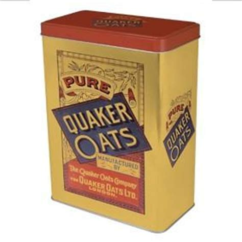Quaker Oats Vintage Storage Tin. Cement Floor Kitchen. Kitchen Cabinet Floor Plans. Kitchen Floor Tiles White. Hgtv Kitchen Countertops