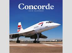 Concorde Calendar 2018 Calendar Club UK