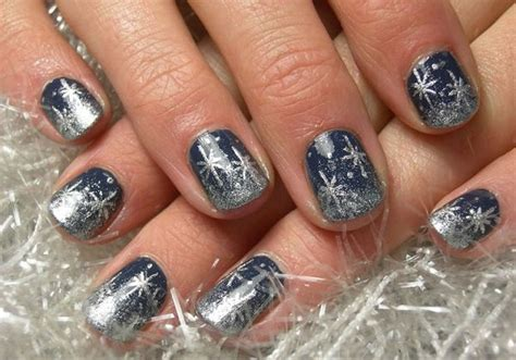 Nail Art Winter : 101 Simple Winter Nail Art Ideas For Short Nails
