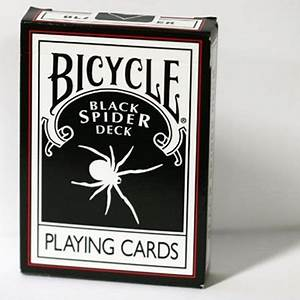 Black Spider Deck Bicycle - Magic Tricks The Leading Magic ...