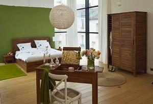 Deco Chambre Zen : decoration chambre ambiance nature zen ~ Melissatoandfro.com Idées de Décoration