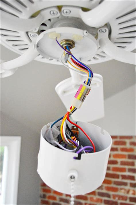 ceiling fan light kit wiring how to update your outlets step by step pics young