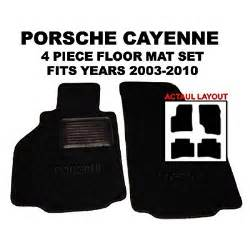 Porsche Cayenne Floor Mat by Porsche Cayenne Oem Black Floor Carpet Mats Matting