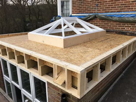 Flat Roof : Grp Fibreglass Flat Roof System