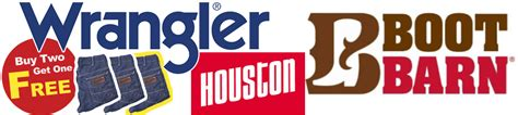 Boot Barn Houston by Wrangler Buy 2 Get One Free To Welcome Back Rodeo
