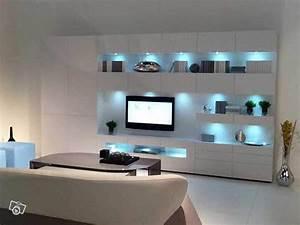 Meuble Tv Haut : meuble tv haut de gamme design ~ Teatrodelosmanantiales.com Idées de Décoration