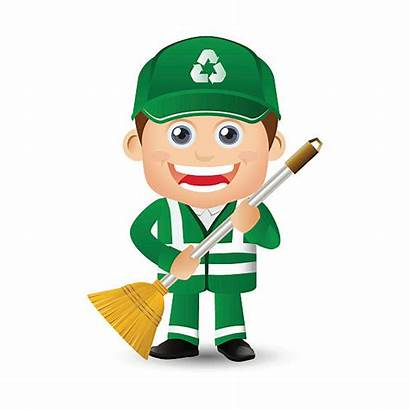 Street Sweeping Clip Vector Cleaner Illustrations Graphics