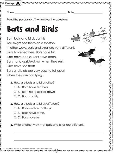 grade 1 reading worksheets worksheets for all