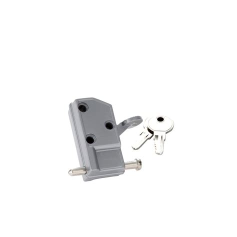 security aluminum keyed patio door lock 1253