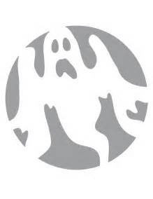 Free Printable Pumpkin Carving Stencils Ghost
