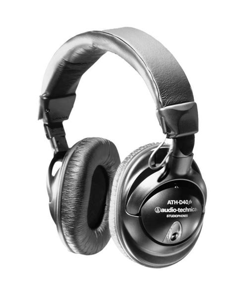 audio technica ath d40fs enhanced bass headphones long