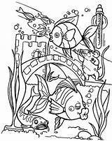 Coloring Aquarium Fish Pages Tropical Printable Kissing Baltimore Glass Wall Getcolorings Couple sketch template