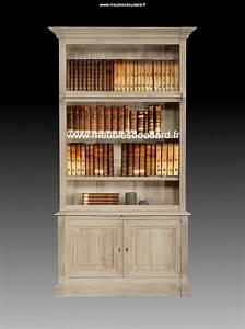 Bibliothque Directoire En Bois Clair Meuble Rangement