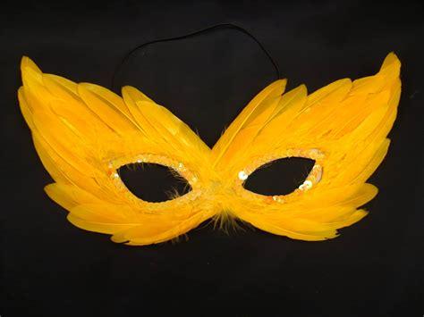 venetian fancy dress feather eye mask masquerade hallowen
