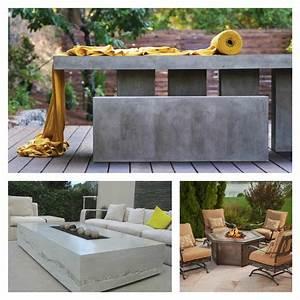 tables de jardin en marbre et pierre durables et esthetiques With salle de bain design avec décoration noel extérieur jardin