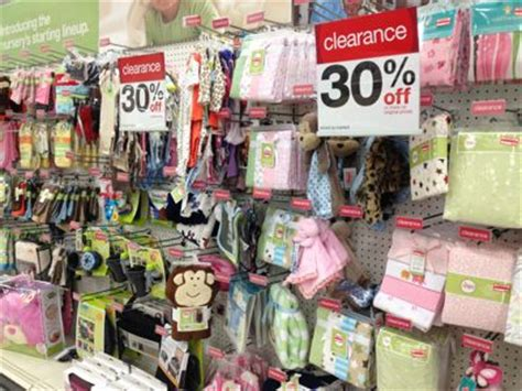 target baby section target heads up baby clearance markdown day is monday