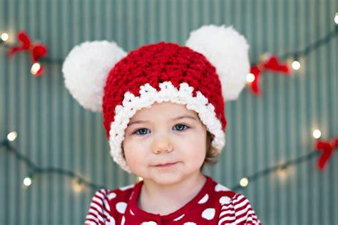 christmas toddler hat 1t 2t toddler girl hat toddler boy hat