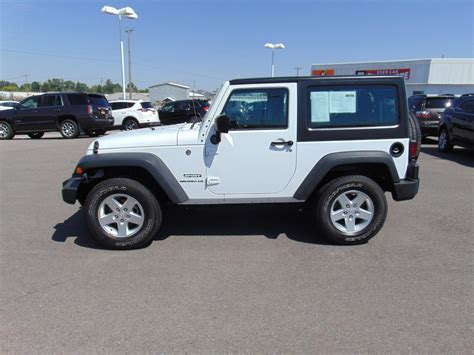 certified pre owned  jeep wrangler sport sport utility