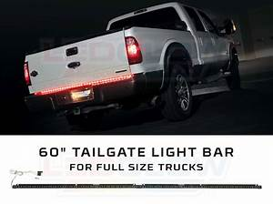 Ledglow 60 U0026quot  Tailgate Led Light Bar With White Reverse