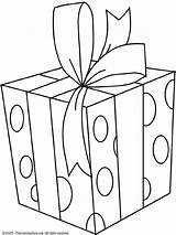 Coloring Gifts Colouring sketch template