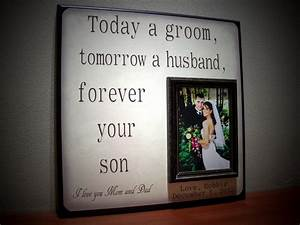 mother of the groom gift father of the groom by With parents gifts for wedding from bride and groom
