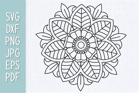 They are perfect for those of you. Mandala SVG