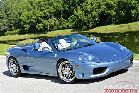 2001 360 modena berlinetta 2dr coupe, engine 2001 360 modena spider f1 2dr convertible, engine 2001 Ferrari 360 SPIDER/SPIDER F1 | Pinnacle Motorcars
