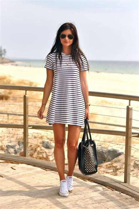 Stripped Summer Casual Dresses Styling Ideas u2013 Designers ...