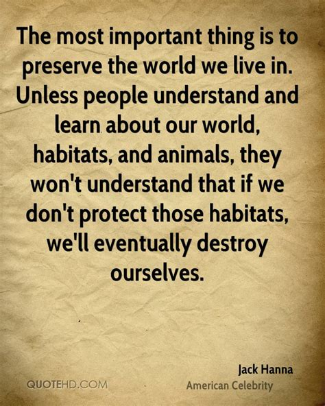 Jack Hanna Quotes | QuoteHD