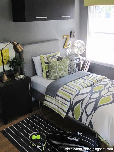 simple details teen boys bedroom