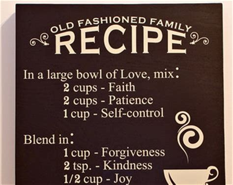 family recipes family recipe quotes quotesgram