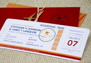 ticket wedding invitations boarding pass wedding invitation template wedding and bridal inspiration