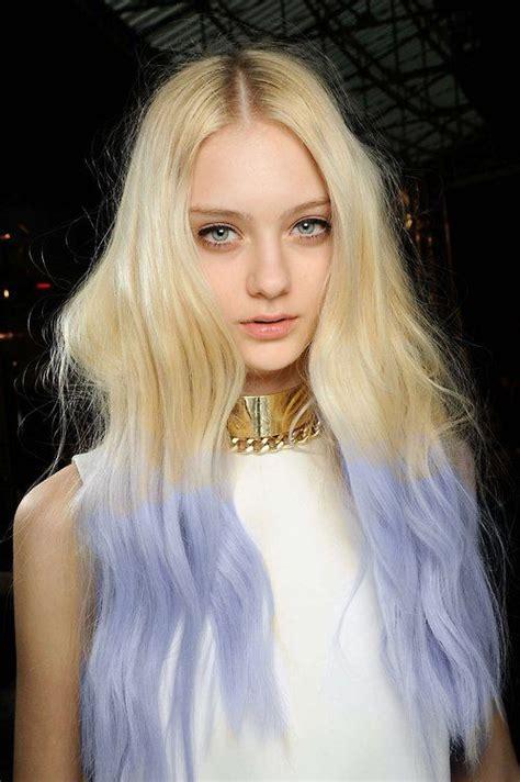 Best 25 Blonde Dip Dye Ideas On Pinterest Blonde Dip