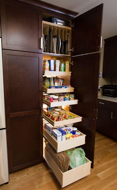 Akadahome Kitchen Pantry Cabinet by Shelf Genie Slide Out Pantry Shelves From Shelfgenie Of