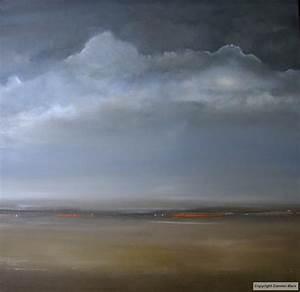 tableau peinture contemporaine paysage abstrait lumiere With couleur gris bleu peinture 4 tableau peinture contemporaine paysage minimaliste