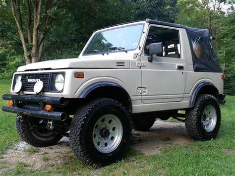 old car owners manuals 1989 suzuki sj parental controls buy used 1988 suzuki samurai 1 9 turbo diesel jeep in jamestown tennessee united states