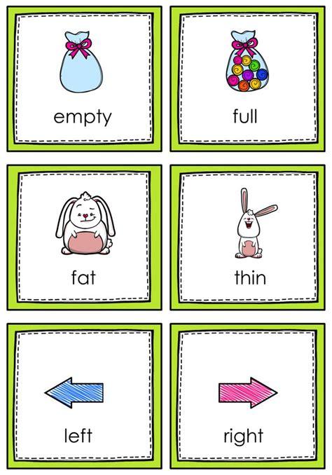 opposites memory game  images opposites preschool
