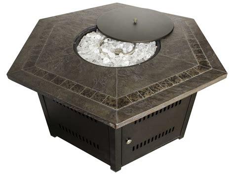 az patio heaters hexagon firepit faux top wlf hex