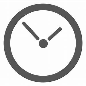 Wall clock icon - Transparent PNG & SVG vector