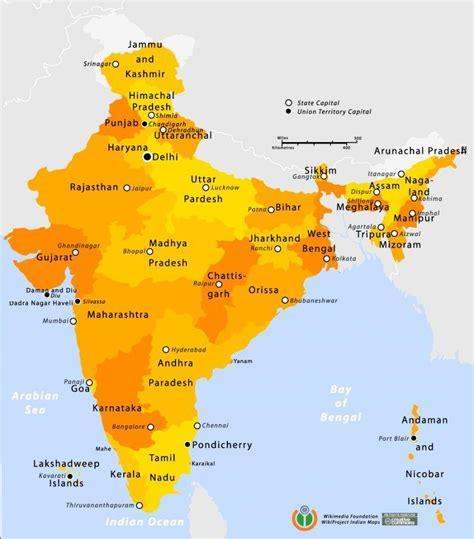 Carte Du Monde Inde by G 233 Ographie De L Inde