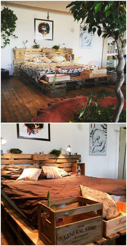 diy pallet bed pallet bed frames wood pallet beds