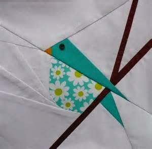 Paper Pieced Bird Quilt Block Pattern