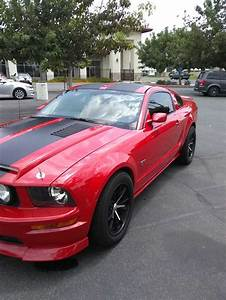 5th generation red 2005 Ford Mustang GT automatic For Sale - MustangCarPlace