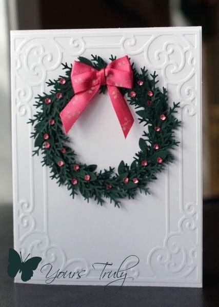 pink  green wreath  yourstruly  splitcoaststampers