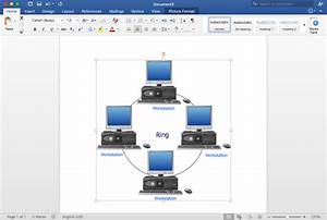 How To Add A Block Diagram To An Ms Word  U2122 Document