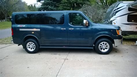 nissan nvp 4x4 new nv p 3500 owner in boston with quigley 4x4 conversion
