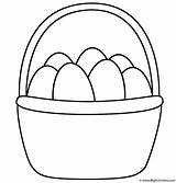 Easter Basket Coloring Drawing Step Eggs Egg Baskets Printable Colouring Templates Colour Clipart Cartoon Bunny Bigactivities Happy Preschoolers Sheets Clip sketch template