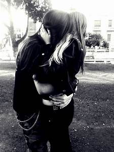metal couple, so cute | Goth guys, Emo love, Emo couples