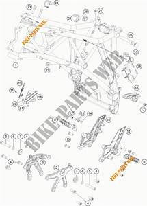 Frame For Ktm 1290 Super Duke Gt Grey 2017   Ktm