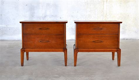 mid century modern table ls select modern pair of mid century modern nightstands